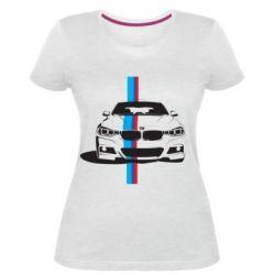 Купить Женская стрейчевая футболка BMW F30, FatLine