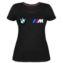 Жіноча стрейчева футболка BMW M