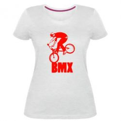 Женская стрейчевая футболка Bmx Boy