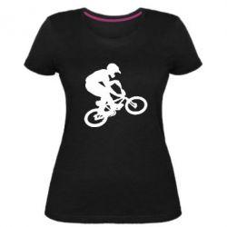 Женская стрейчевая футболка BMX Extreme