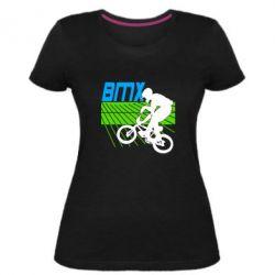 Женская стрейчевая футболка BMX Sport