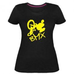Жіноча стрейчева футболка BMX