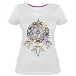 Купить Женская стрейчевая футболка Boho2, FatLine