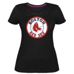 Жіноча стрейчева футболка Boston Red Sox