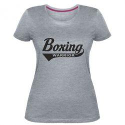 Жіноча стрейчева футболка Boxing Warrior
