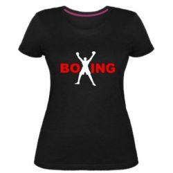 Женская стрейчевая футболка BoXing X