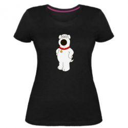 Женская стрейчевая футболка Брайан Гриффин