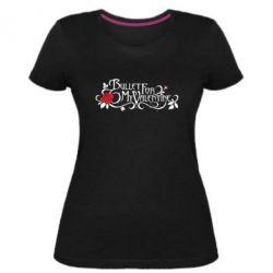 Жіноча стрейчева футболка Bullet For My Valentine