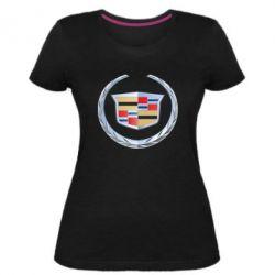 Жіноча стрейчева футболка Cadillac