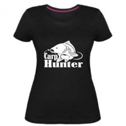 Жіноча стрейчева футболка Carp Hunter