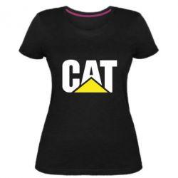 Жіноча стрейчева футболка Caterpillar