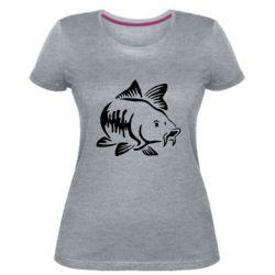 Жіноча стрейчева футболка Catfish