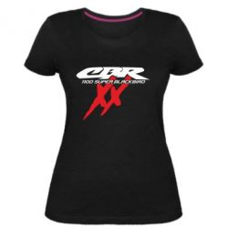 Жіноча стрейчева футболка CBR Super Blackbird 1100XX