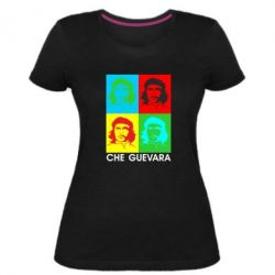 Жіноча стрейчева футболка Che Guevara 4 COLORS