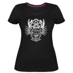 Жіноча стрейчева футболка Chemodan Clan PTZ Underground