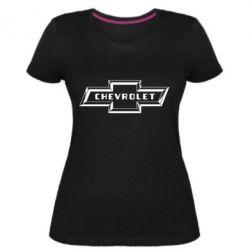 Жіноча стрейчева футболка Chevrolet 3D