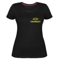 Жіноча стрейчева футболка Chevrolet Small