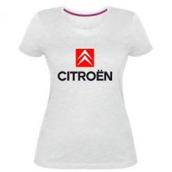 Женская стрейчевая футболка CITROEN 2