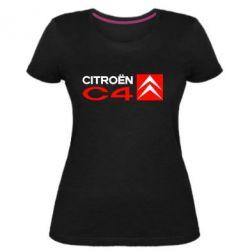 Жіноча стрейчева футболка CITROEN C4