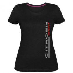 Жіноча стрейчева футболка Citroen Спорт