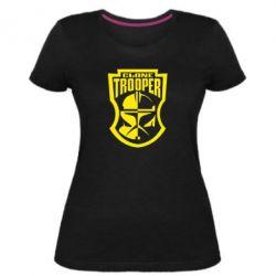 Женская стрейчевая футболка Clone Trooper