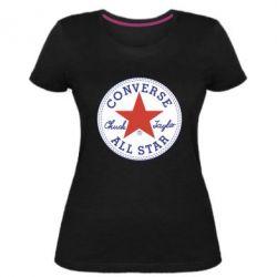 Жіноча стрейчева футболка Converse