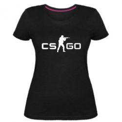 Женская стрейчевая футболка Counter Strike GO