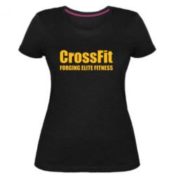 Жіноча стрейчева футболка Crossfit Forging Elite Fitness