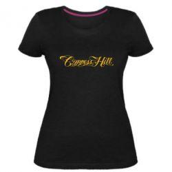 Женская стрейчевая футболка Cypress Hill