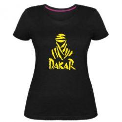 Жіноча стрейчева футболка Dakar