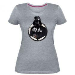 Жіноча стрейчева футболка Дарт Вейдер Арт