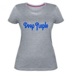 Жіноча стрейчева футболка Deep Purple