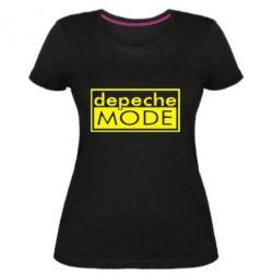 Жіноча стрейчева футболка Depeche Mode Rock
