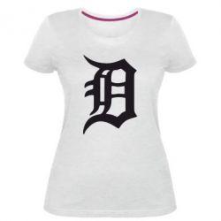 Женская стрейчевая футболка Detroit Eminem - FatLine