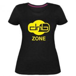 Женская стрейчевая футболка DnB Zone
