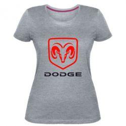 Жіноча стрейчева футболка DODGE
