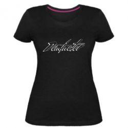 Жіноча стрейчева футболка Dominator