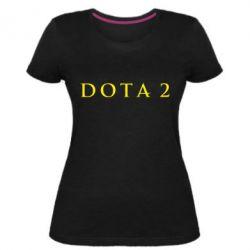 Жіноча стрейчева футболка Доту 2
