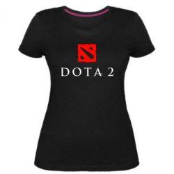 Жіноча стрейчева футболка Dota 2