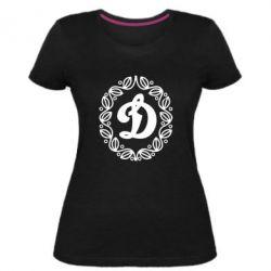 Жіноча стрейчева футболка Dynamo Original