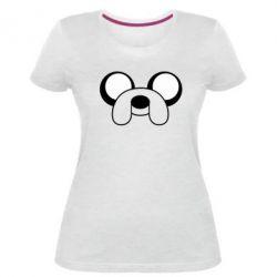 Жіноча стрейчева футболка Джейк