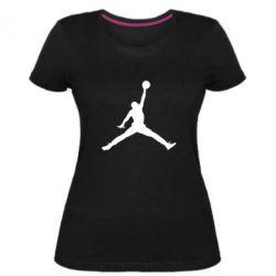 Жіноча стрейчева футболка Джордан