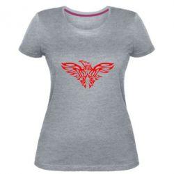 Женская стрейчевая футболка Eagle