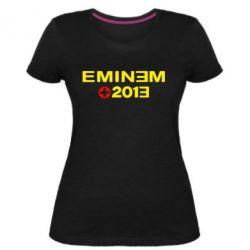 Жіноча стрейчева футболка Eminem 2013