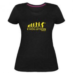 Женская стрейчевая футболка Eminem Evolution