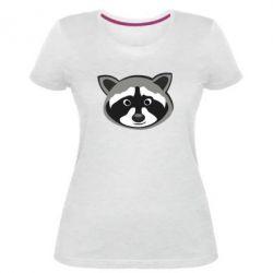 Жіноча стрейчева футболка Енотік