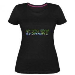 Женская стрейчевая футболка Far Cry Island