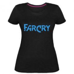 Жіноча стрейчева футболка FarCry