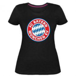 Жіноча стрейчева футболка FC Bayern Munchen