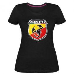 Женская стрейчевая футболка FIAT Abarth